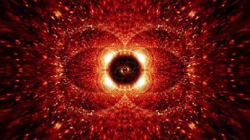 vj loop shine oro rojo explosión llamarada movimiento video