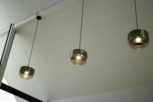 Decorative hanging lights photo