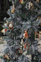 Christmas tree decoration photo