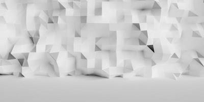 Abstract grid wall background with plain ground photo