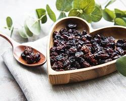 Dried grapes, raisins photo