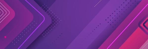 Abstract Geometric Purple Background vector