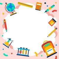 Fondo de niños lindos coloridos vector