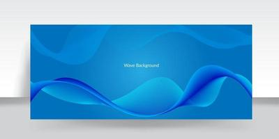 Abstract wave colorful background with wavy line vector