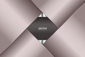 Luxury of pink metallic background dark space with line texture. vector