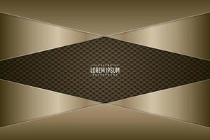Gold and silver metallic background. vector