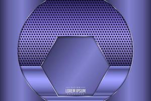 Metal background of purple. vector