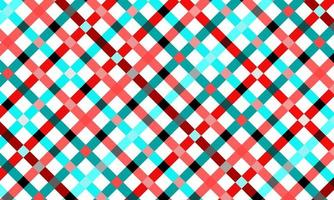 Colorful Gingham Style Background vector