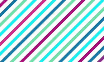 Colorful Seamless Striped Pattern Background vector