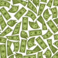 banknotes background - money pattern vector