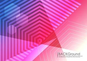 Abstract background geometry design vector