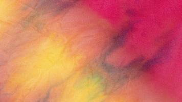 Multicolored tie dye textile photo