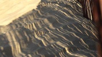 sombras en la playa foto