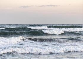 Beach ocean waves photo