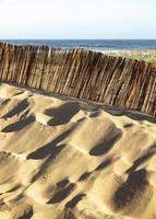 arena en la playa foto