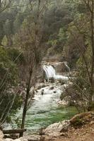 Waterfall and creek photo