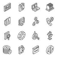Creative Research Glyph vector