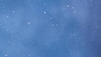 Minimal monochromatic blue background with dots photo