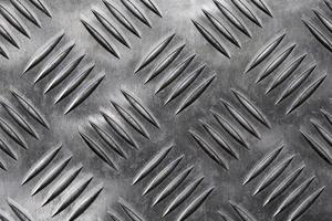 Silver metallic background with ventilation holes photo