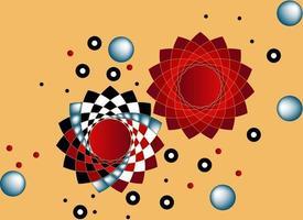 imagen vectorial de colores geométricos vector