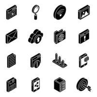 elementos de almacenamiento de datos vector