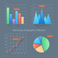 Business Inforgraphic Element Collection vector