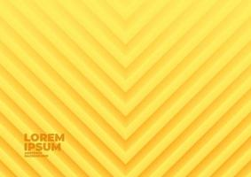 Yellow geometric wave abstract background. vector