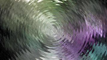 boucle d'ondulation centrale cercle ondes anneau environnement réflexion boucle video