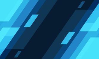 Abstract blue tone light speed geometric technology futuristic background design vector illustration