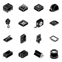 Construction Equipment and Tools vector