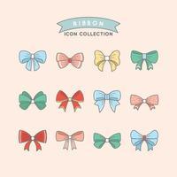 A Set of Charming Ribbons vector