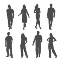 People Silhouette Collection vector
