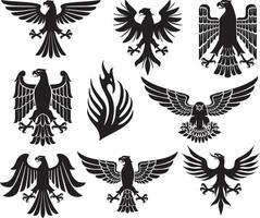 eagles collection set vector