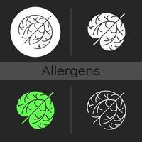 Tumbleweed dark theme icon vector