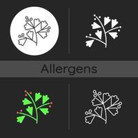 Sagebrush dark theme icon vector