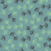 SEAMLESS BACKGROUND WITH STYLIZED TWIGS vector