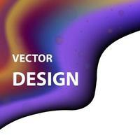 imagen de fondo vectorial con combinación de colores brillantes vector