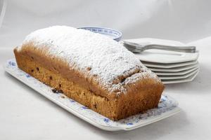 Plum cake loaf photo