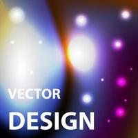 imagen de fondo vectorial con tema de espacio de color brillante vector