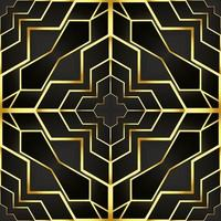 This is a vintage golden texture in an oriental style with cobwebs vector