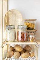 Food storage containers photo