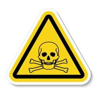 Toxic Material Symbol Sign vector
