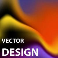 Vector background image with bright color scheme
