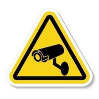 CCTV Security Camera Symbol vector