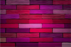 Abstract Red Pink Background brick wall vector