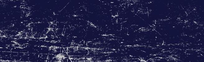 Realistic background, dark blue texture with peeling paint - Vector