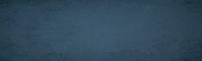 Realistic background, dark blue old wall - Vector