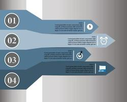 Infographics for business presentation vector