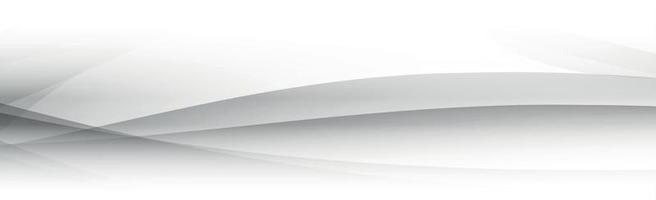 Fondo de vector blanco con líneas onduladas y puntos
