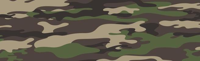caqui panorámico militar o de caza vector